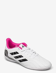 Copa Sense.4 Indoor Boots - schuhe - ftwwht/cblack/shopnk