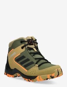 TERREX HYPERHIKER K - hiking shoes - wilpin/cblack/scrora