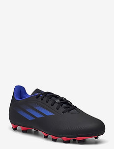 X Speedflow.4 Flexible Ground Boots Q3Q4 21 - football boots - cblack/sonink/syello