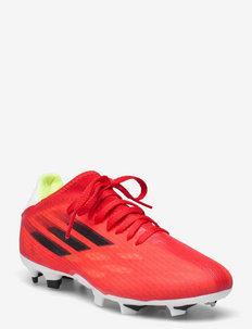 X Speedflow.3 Firm Ground Boots Q3Q4 21 - football shoes - red/cblack/solred