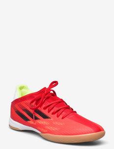 X Speedflow.3 Indoor Boots Q3Q4 21 - buty piłkarskie - red/cblack/solred