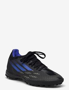 X Speedflow.3 Turf Boots Q3Q4 21 - football boots - cblack/sonink/syello