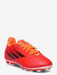 X Speedflow.4 Flexible Ground Boots Q3Q4 21 - sportshoenen - red/cblack/solred