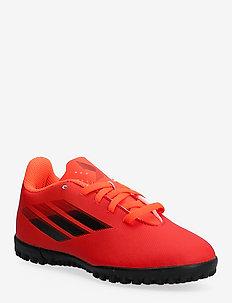 X Speedflow.4 Turf Boots Q3Q4 21 - sport shoes - red/cblack/solred