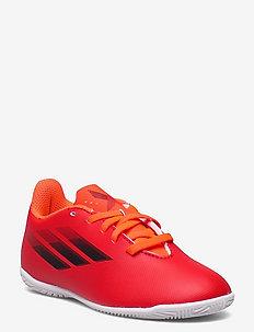 X Speedflow.4 Indoor Boots Q3Q4 21 - sportshoenen - red/cblack/solred