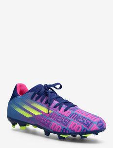 X Speedflow Messi.3 Firm Ground Boots Q4 21 - buty piłkarskie - vicblu/shopnk/syello