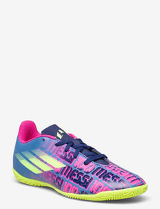 X SPEEDFLOW MESSI.4 IN J - sport shoes - vicblu/shopnk/syello