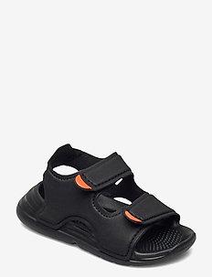 Swim Sandals - flip flops & watershoes - cblack/cblack/ftwwht