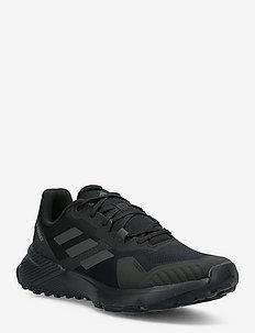 Terrex Soulstride Trail Running - chaussures de randonnée - cblack/carbon/gresix