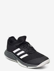 Court Team Bounce Indoor - chaussures de fitness - cblack/ftwwht/grefou