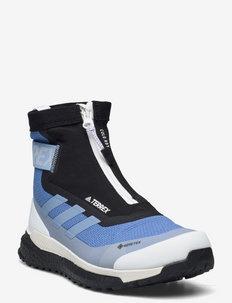 Terrex Free Hiker COLD.RDY Hiking Boots W - vandresko - focblu/halblu/cblack