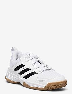 Ligra 7 Indoor - training schoenen - ftwwht/cblack/ftwwht