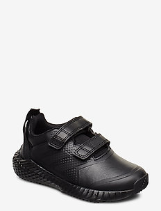 FortaGym CF K - sneakers - cblack/cblack/dgsogr