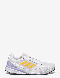 Response Run  W - running shoes - ftwwht/sogold/vioton