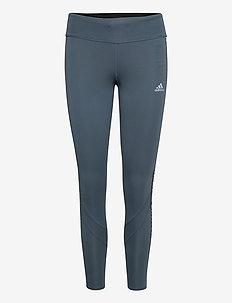OWN THE RUN TGT - running & training tights - legblu/siggnr/hazcor