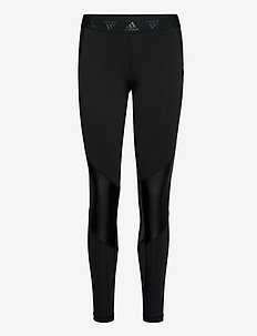 ASK GLAM T - running & training tights - black/white