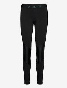 ASK GLAM T - sportleggings - black/white