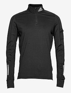 Own the Run 1/2 Zip Warm Sweatshirt - swetry - black
