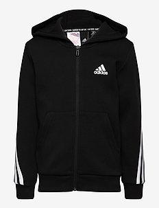 B 3S FZ - hoodies - black/white