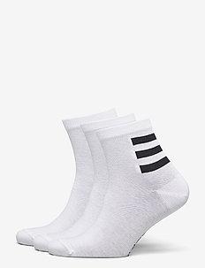 3S ANKLE 3PP - normale sokken - white/white/white/sig