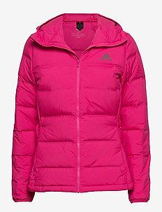 W Helionic Ho J - outdoor & rain jackets - bopink