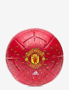 MUFC CLB - sprzęt piłkarski - powred/black/yellow/w