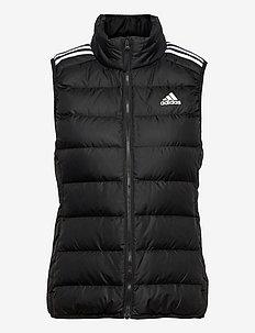 Essentials Light Down Vest W - vestes rembourrées - black