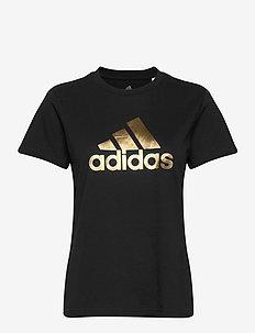 UnivVol Tee 2 W - logo t-shirts - black