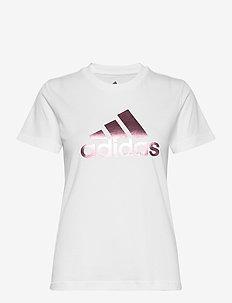 UnivVol Tee 2 W - logo t-shirts - white