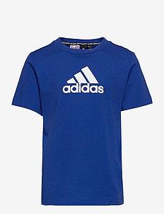 Logo T-Shirt - À manches courtes - royblu/white