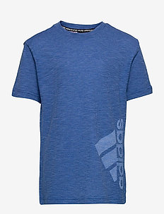 Badge of Sport Summer T-Shirt - À manches courtes - tmrobl/brblue/white