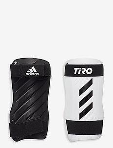 Tiro Training Shin Guards - sprzęt piłkarski - black/white/white