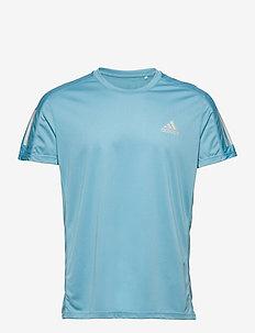 Own The Run T-Shirt - sportoberteile - hazblu