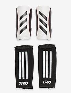 Tiro League Shin Guards - fotbollsutrustning - white/black/black/sol