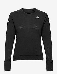 Cooler Long Sleeve Running Tee W - longsleeved tops - black