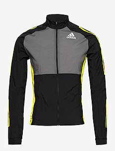 Track Jacket - training jackets - black/grefiv/aciyel