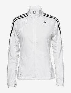 Marathon 3-Stripes Jacket W - training jackets - white
