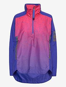 MyShelter Parley Wind.RDY Anorak W - training jackets - sentfl/scarle