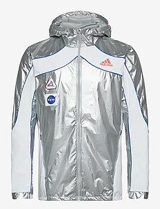 Marathon Space Race Jacket - sportsjakker - msilve/white