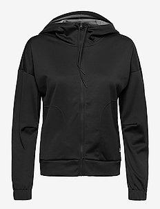 W MVP FZ HD - hoodies - black
