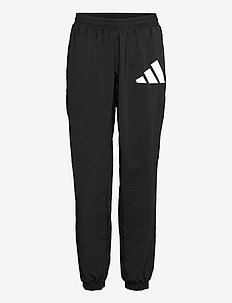 3 Bar Logo Warm-Up Sports Pants W - golf-housut - black/white