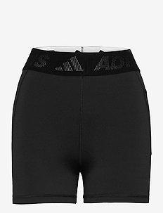 Techfit Badge of Sport Mid Waist Short Tights W - träningsshorts - black/white