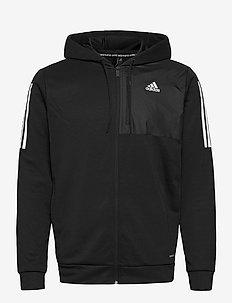 M MH AERO FZ - basic sweatshirts - black