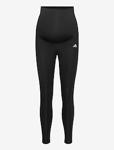 Designed To Move 7/8 Sport Tights W (Maternity) - running & training tights - black/white