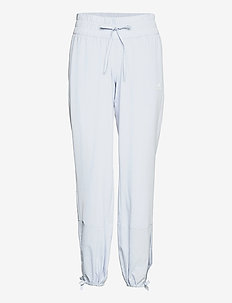 Essentials AEROREADY Dance Pants W - spodnie treningowe - halblu/white