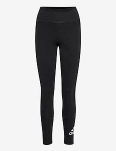 Designed To Move Big Logo High Waist Tights W - collants d'entraînement - black/black/white