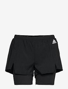 Primeblue Designed To Move 2-in-1 Sport Shorts W - spodenki treningowe - black/white