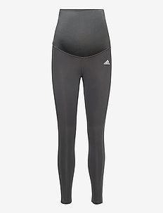 Designed To Move 7/8 Sport Tights W (Maternity) - sportleggings - gresix/black