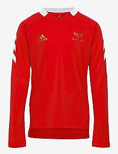 Salah Football-Inspired Jersey - voetbalshirts - vivred/white/goldmt