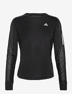 Own the Run Long Sleeve Tee W - langarmshirts - black